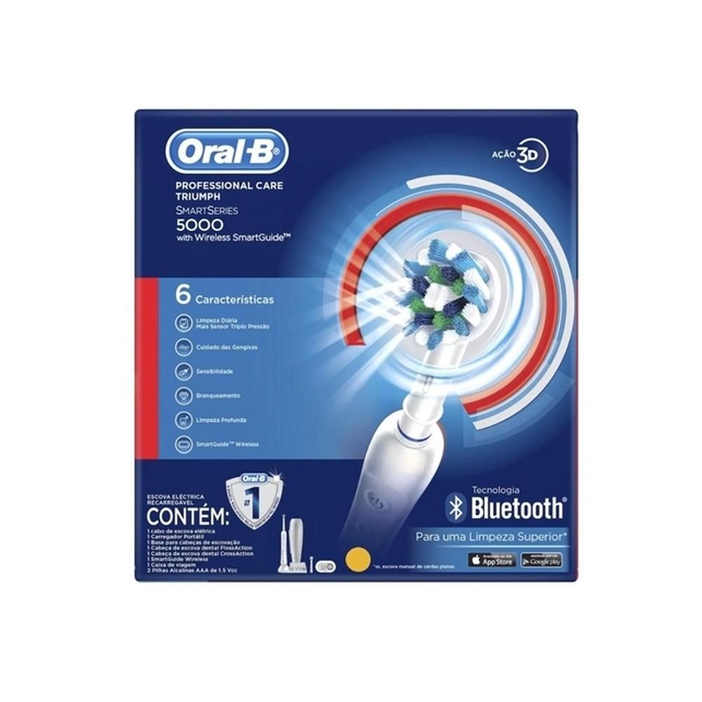 Escova Elétrica Oral-B Professional Care 5000 D34 110V - Premium