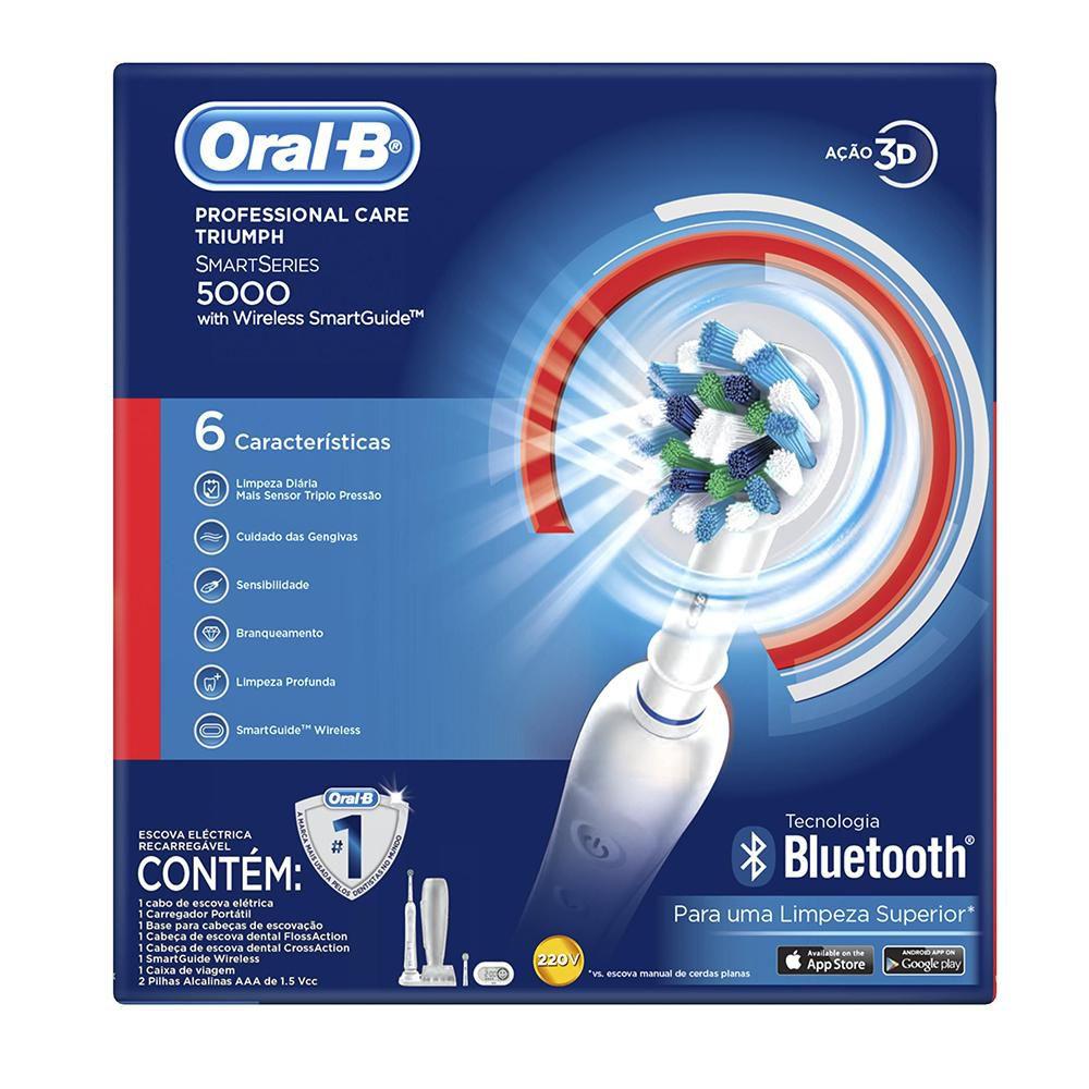 Escova Elétrica Oral-B Professional Care 5000 D34 220V