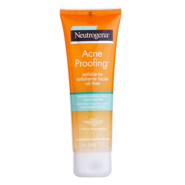 Esfoliante Facial Neutrogena Acne Proofing 100g