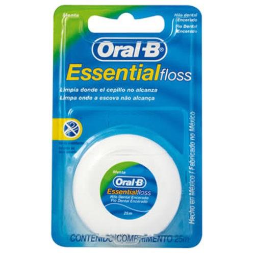 Fio Dental Oral-B Cera 50m
