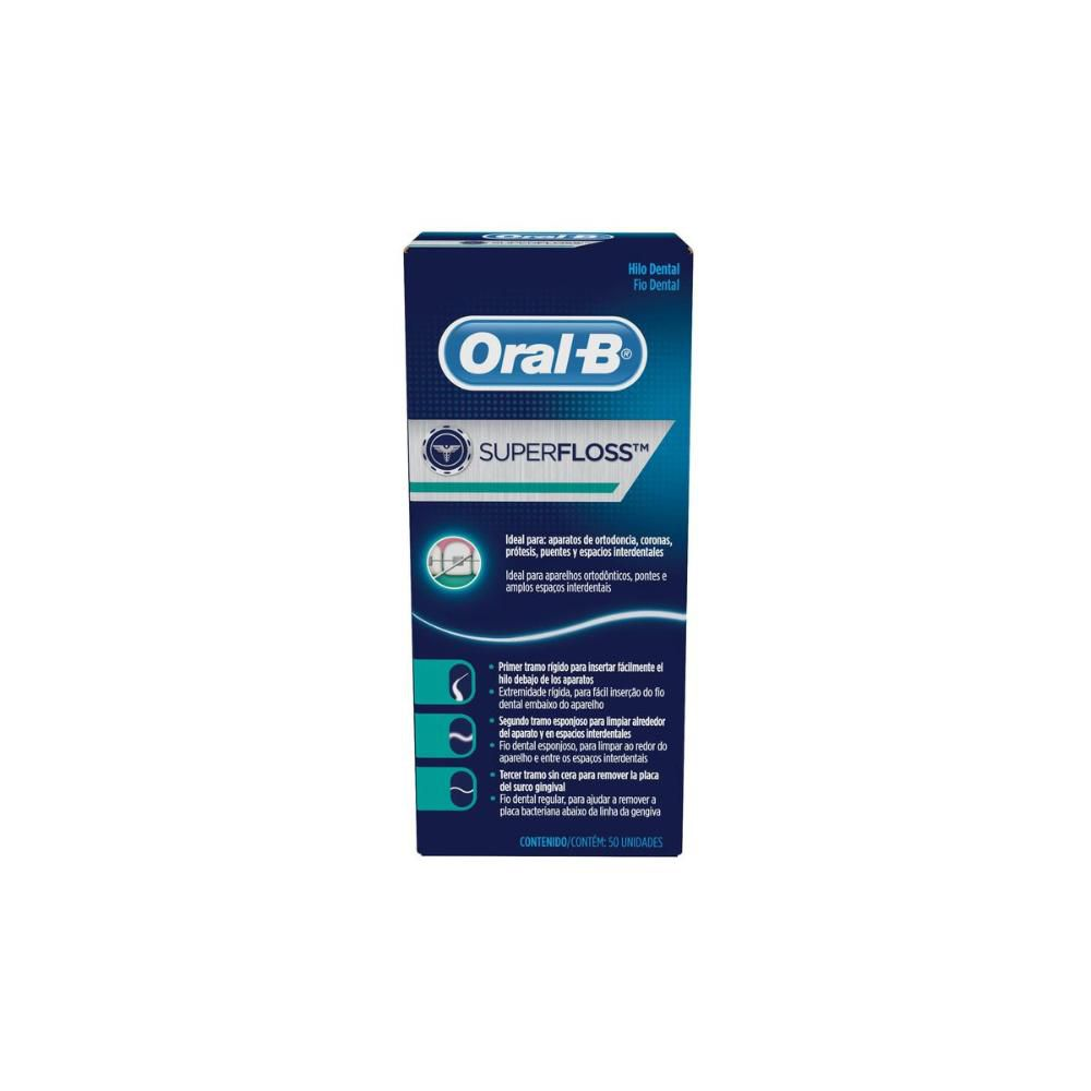 Fio Dental Oral-B Super Floss 50m