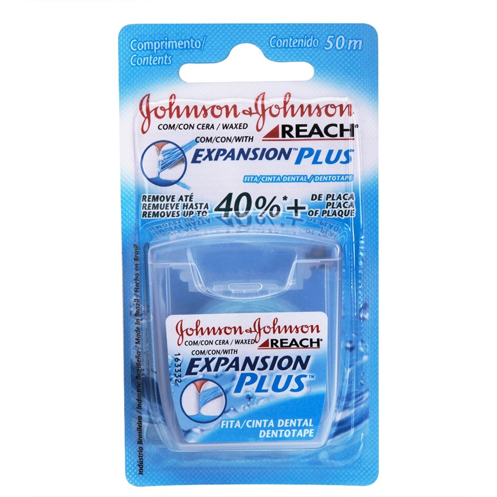 Fio Dental J&J Reach Expansion Plus 50m