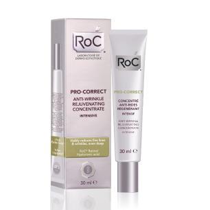 Fluído Antirrugas Rejuvenescedor Concentrado Intensivo Roc Pro-Correct 30mL