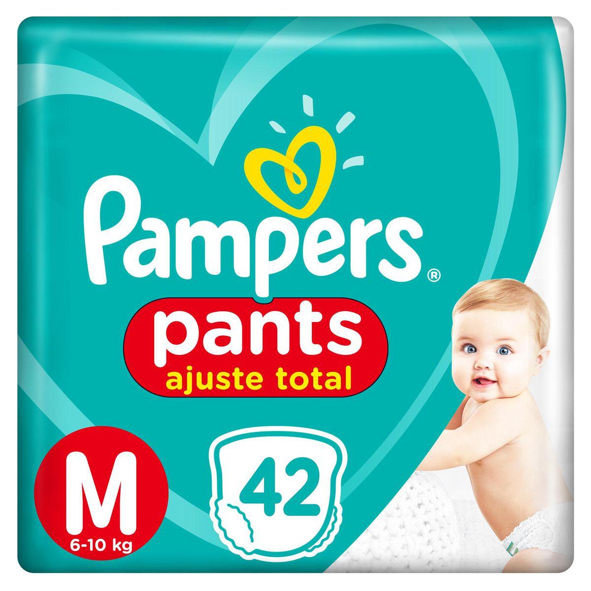Fralda Pampers Pants Ajuste Total Mega Tamanho M 42 Unidades