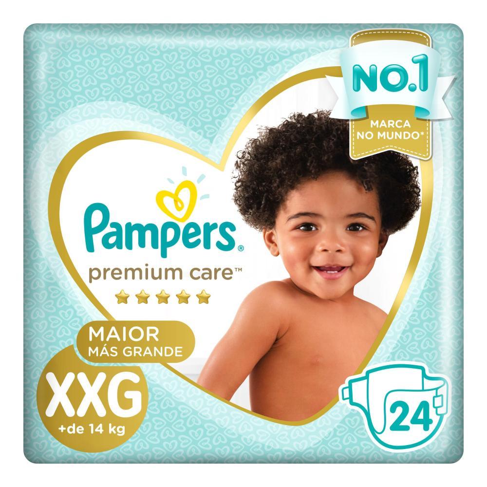Fraldas Pampers Premium Care XXG 24 Unidades