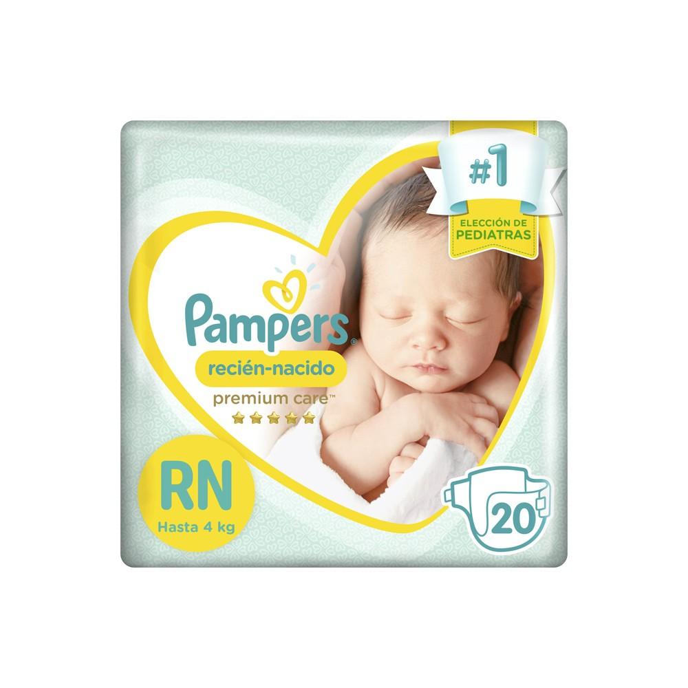 Fralda Pampers Recém Nascido - Extra Suave Recém Nascido c/20 unidades