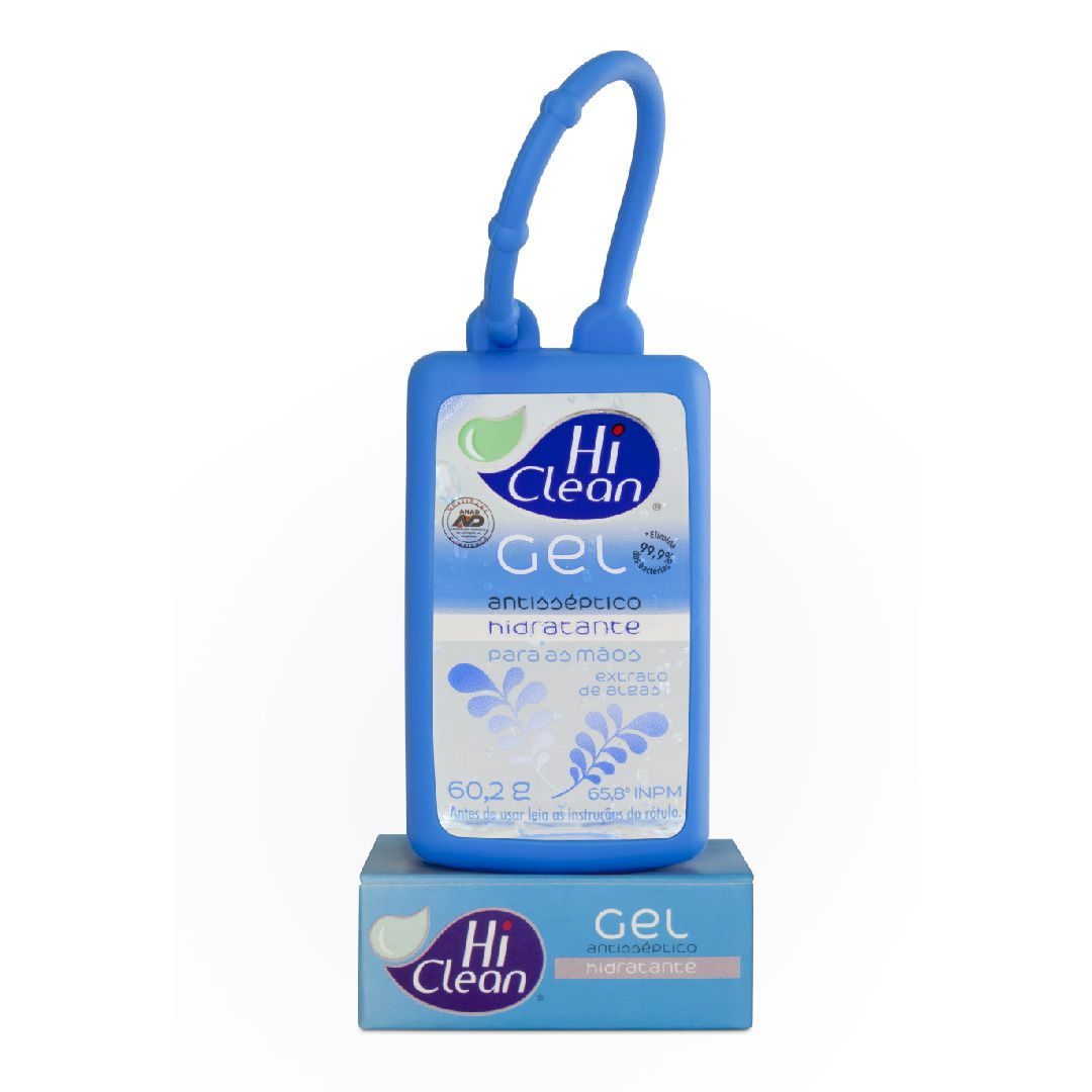 Gel Antisséptico Hi Clean Holder Extrato de Algas 60,2g
