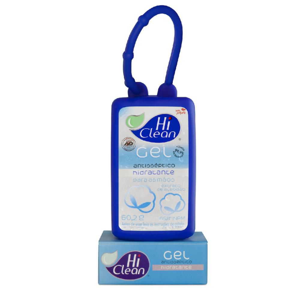 Gel Antisséptico Hi Clean Holder Extrato de Algodão 60,2g