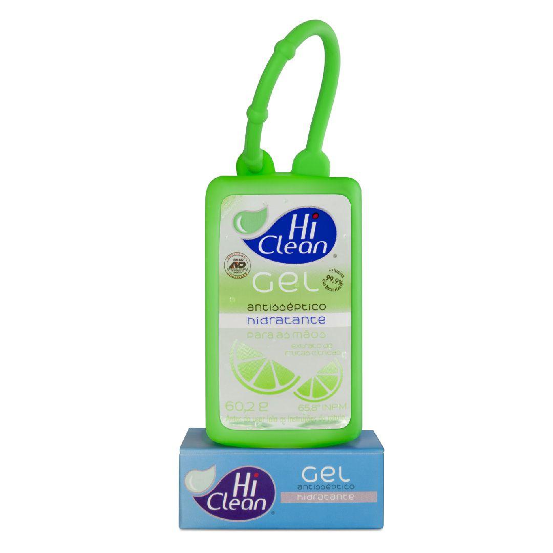 Gel Antisséptico Hi Clean Holder Extrato De Frutas Citricas 60,2g