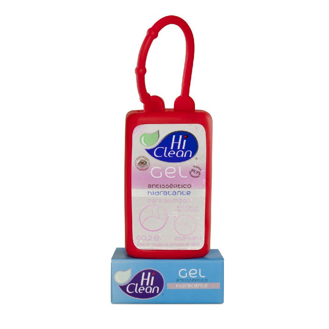 Gel Antisséptico Hi Clean Holder Extrato de Rosas 60,2g