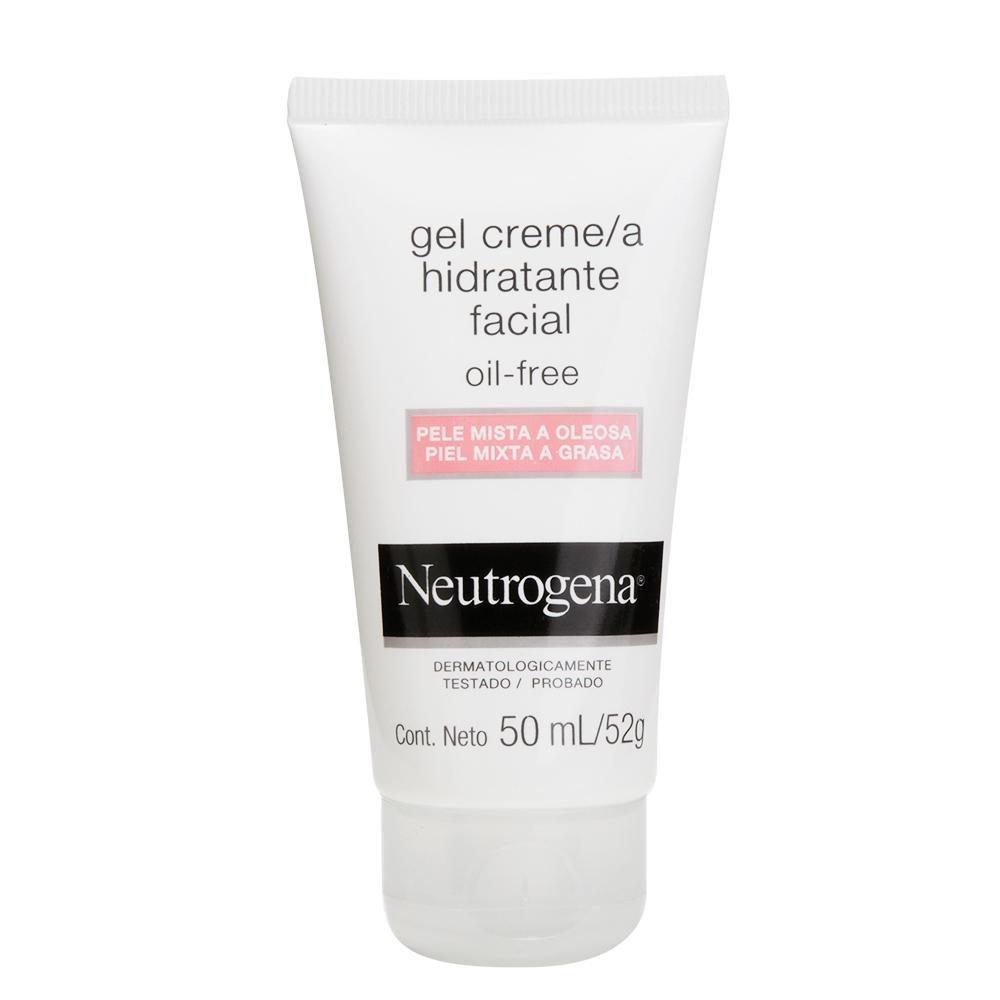 Gel Creme Neutrogena Oil Free Hidratante Facial para Pele Mista a Oleosa 50mL