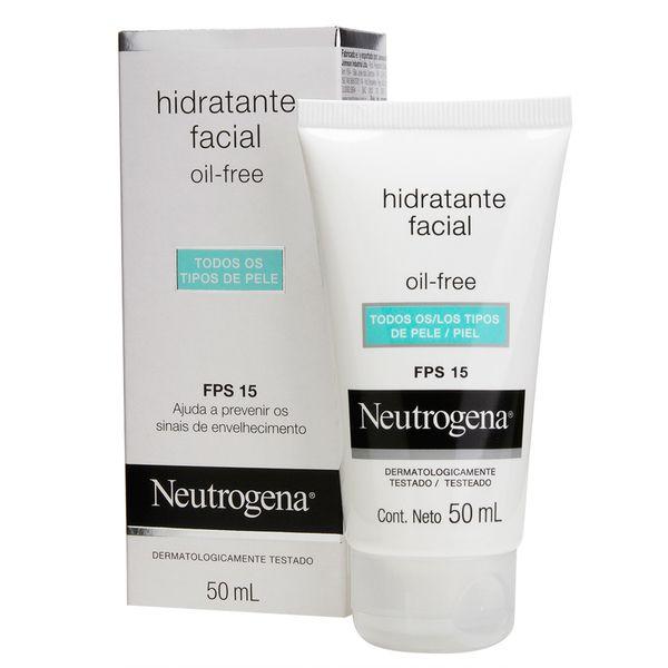 Hidratante Facial Neutrogena Oil Free 50g