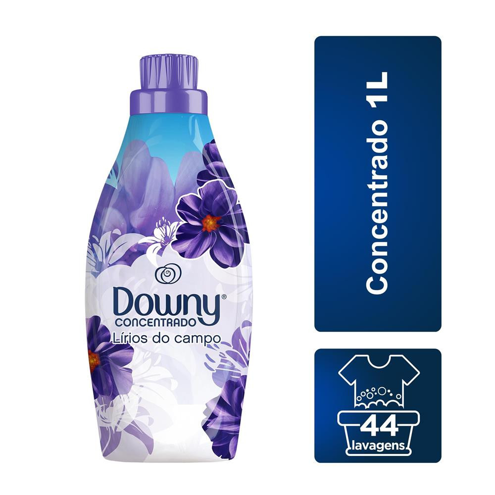 Kit Amaciante Downy Lírios do Campo 500ml com 3 unidades