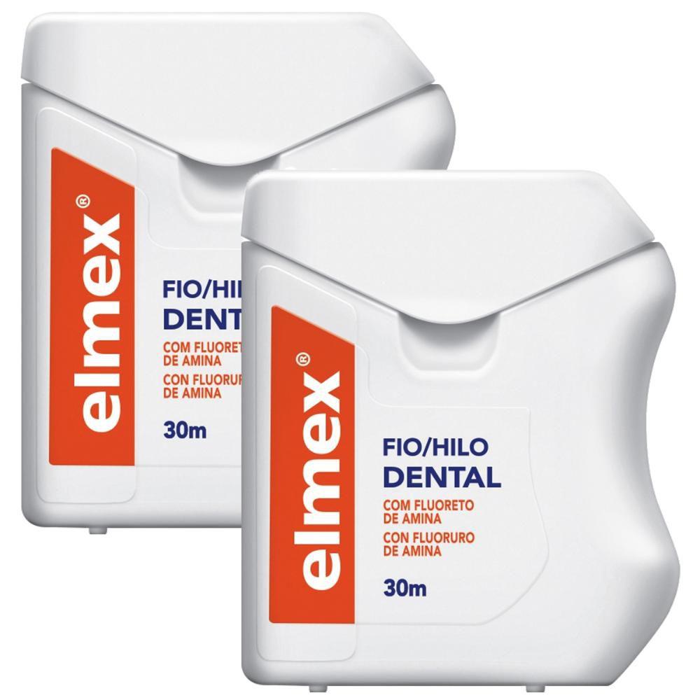 Kit C/ 2 Fio Dental Elmex 30m