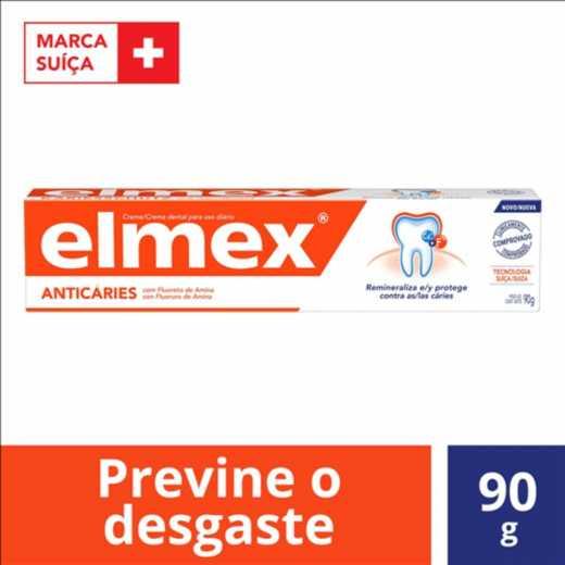 Kit C/ 6 Cremes Dental Elmex 90g
