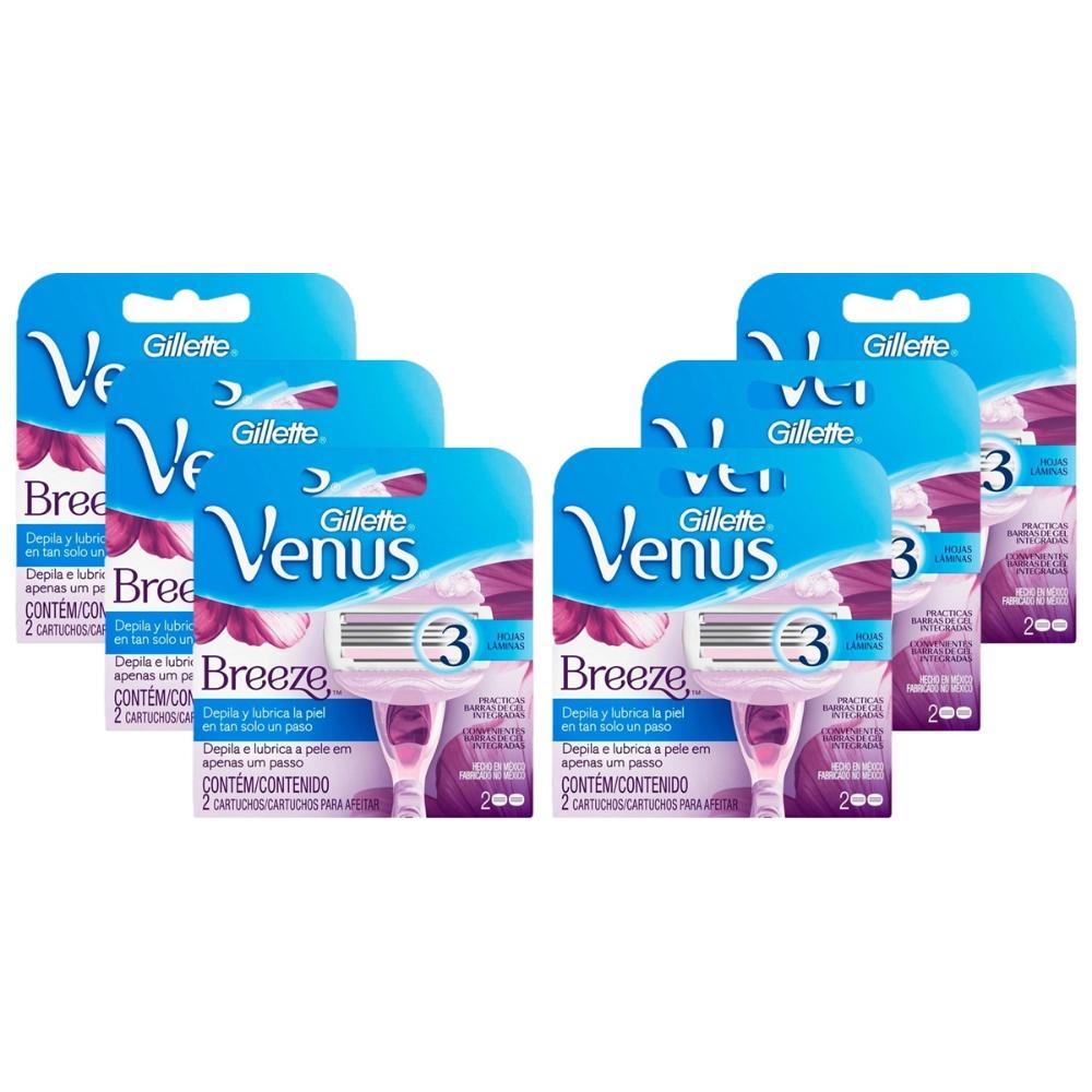 Kit com 12 Cargas Venus Breeze