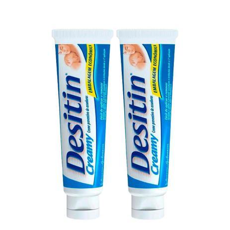 Kit com 2 Cremes Preventivo de Assaduras Desitin Creamy