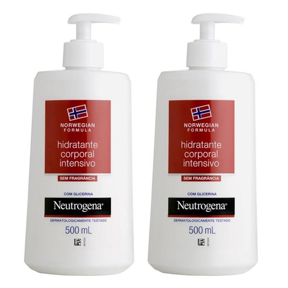 Kit com 2 Hidratantes Corporal Neutrogena Norwegian Body 500ml