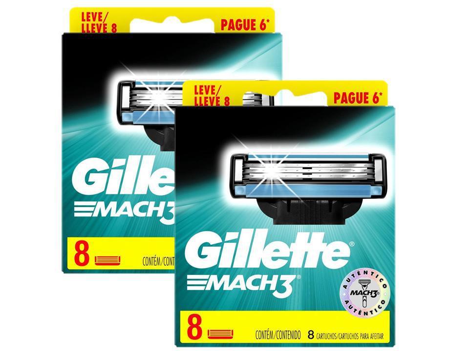 Kit Gillette Mach3 Leve 16 Pague 12