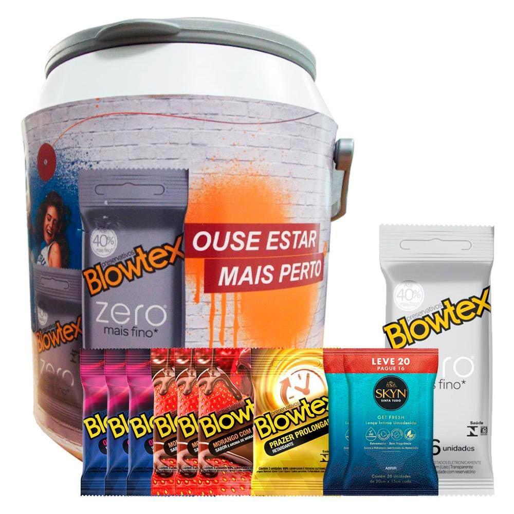 Kit Preservativo Blowtex + Cooler