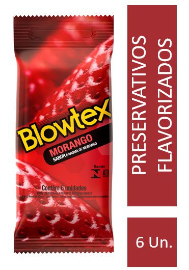 Kit Preservativo Blowtex Morango c/ 30 Uni. + Lenços Umedecidos Skyn Leve 20 Pague 16