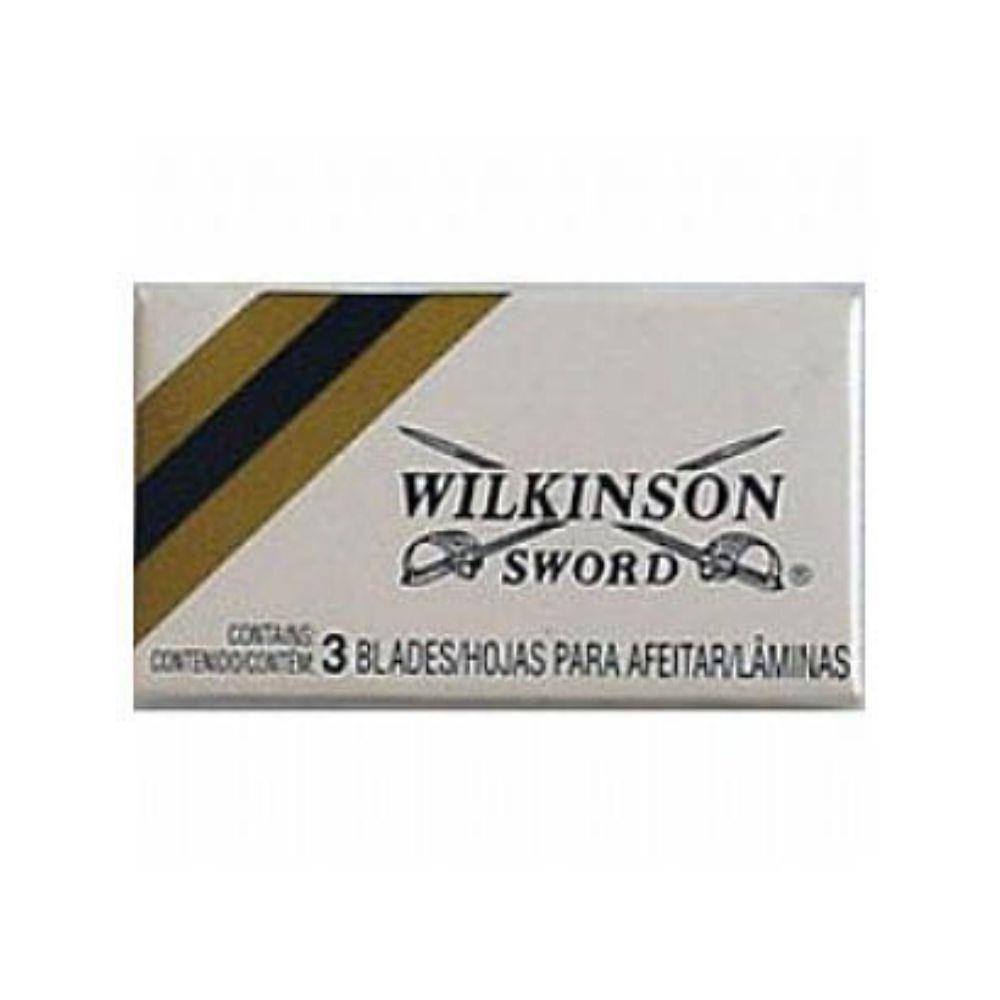 Lâmina de Barbear Wilkinson Inox - 3 unidades