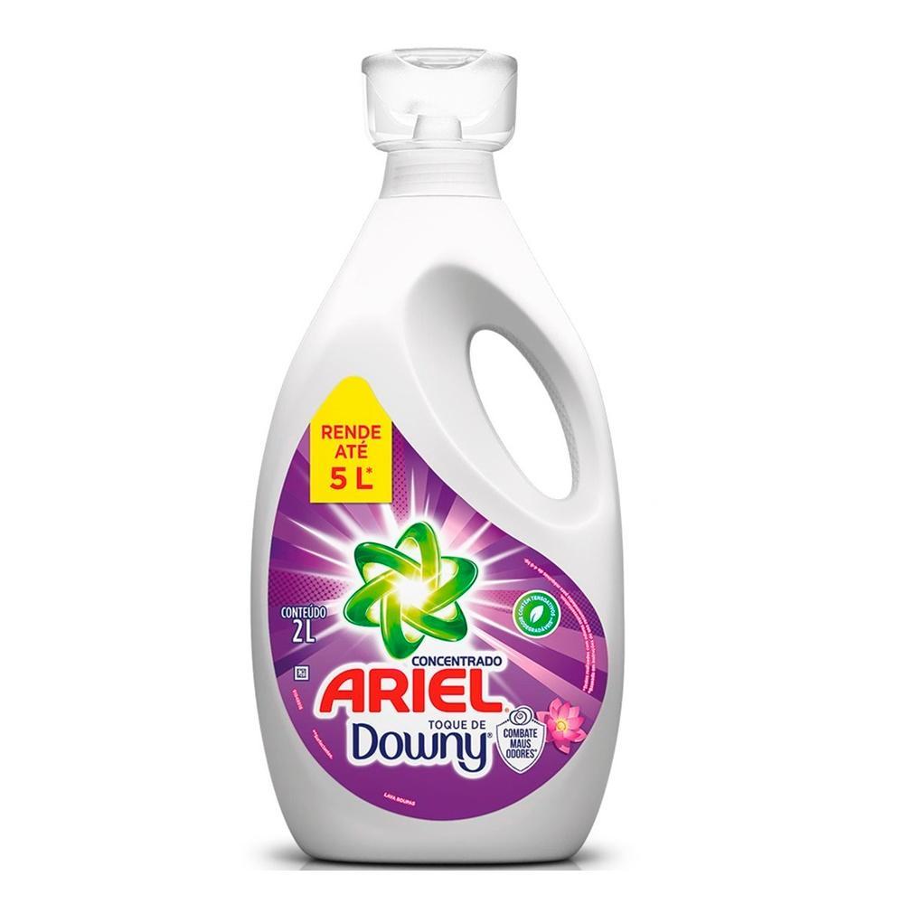 Lava Roupas Concentrado Ariel com toque de Downy 2L
