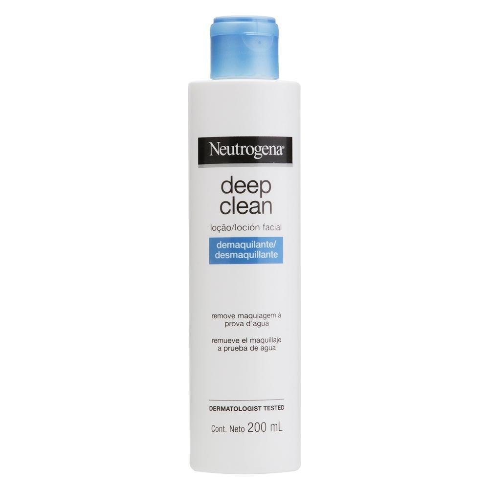 Locão Removedora de Maquiagem Neutrogena Deep Clean 200mL
