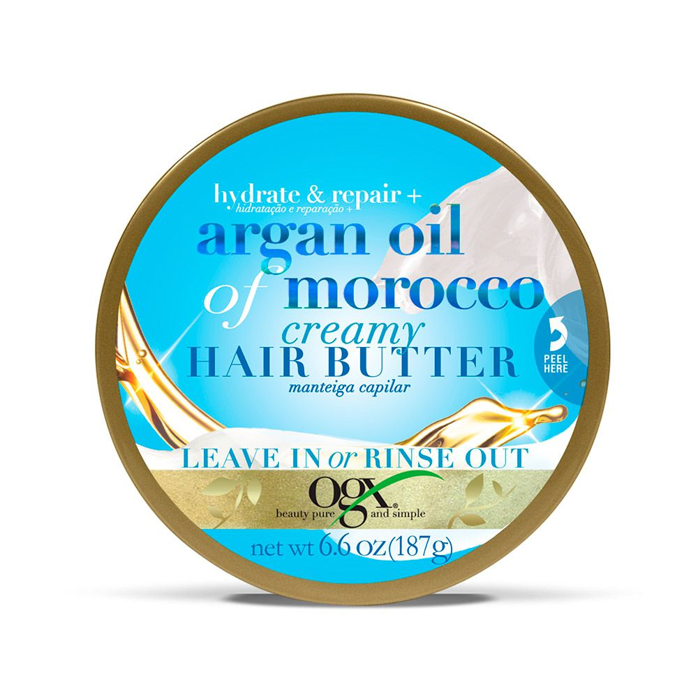 Manteiga Capilar OGX Argan Oil Morocco 187g