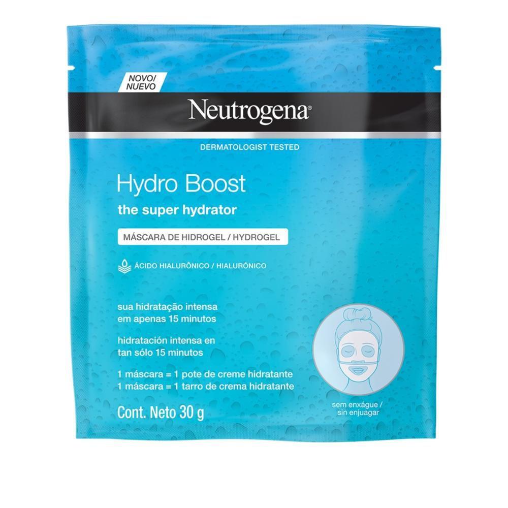 Máscara de Hidrogel Neutrogena Hydro Boost 30mL