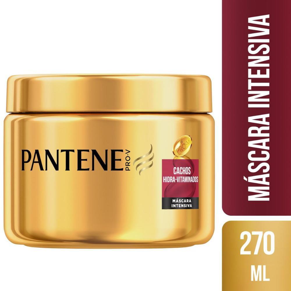 Máscara de tratamento Pantene Cachos Hidravitaminados 270ml