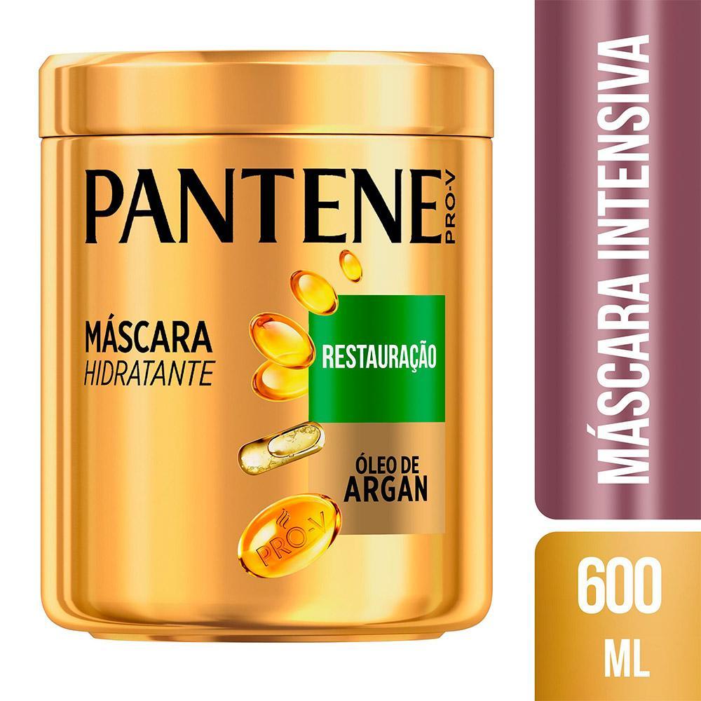 Máscara Pantene Restauração 600mL