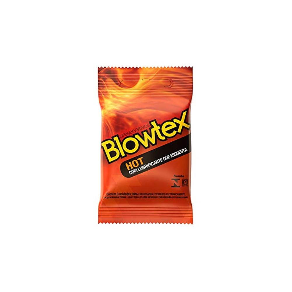 Preservativo Blowtex Hot 3 Unidades