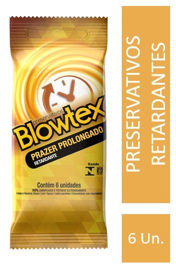 Preservativo Blowtex Retardante 6 Unidades