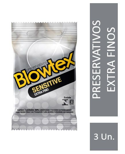 Preservativo Blowtex Sensitive 3 Unidades