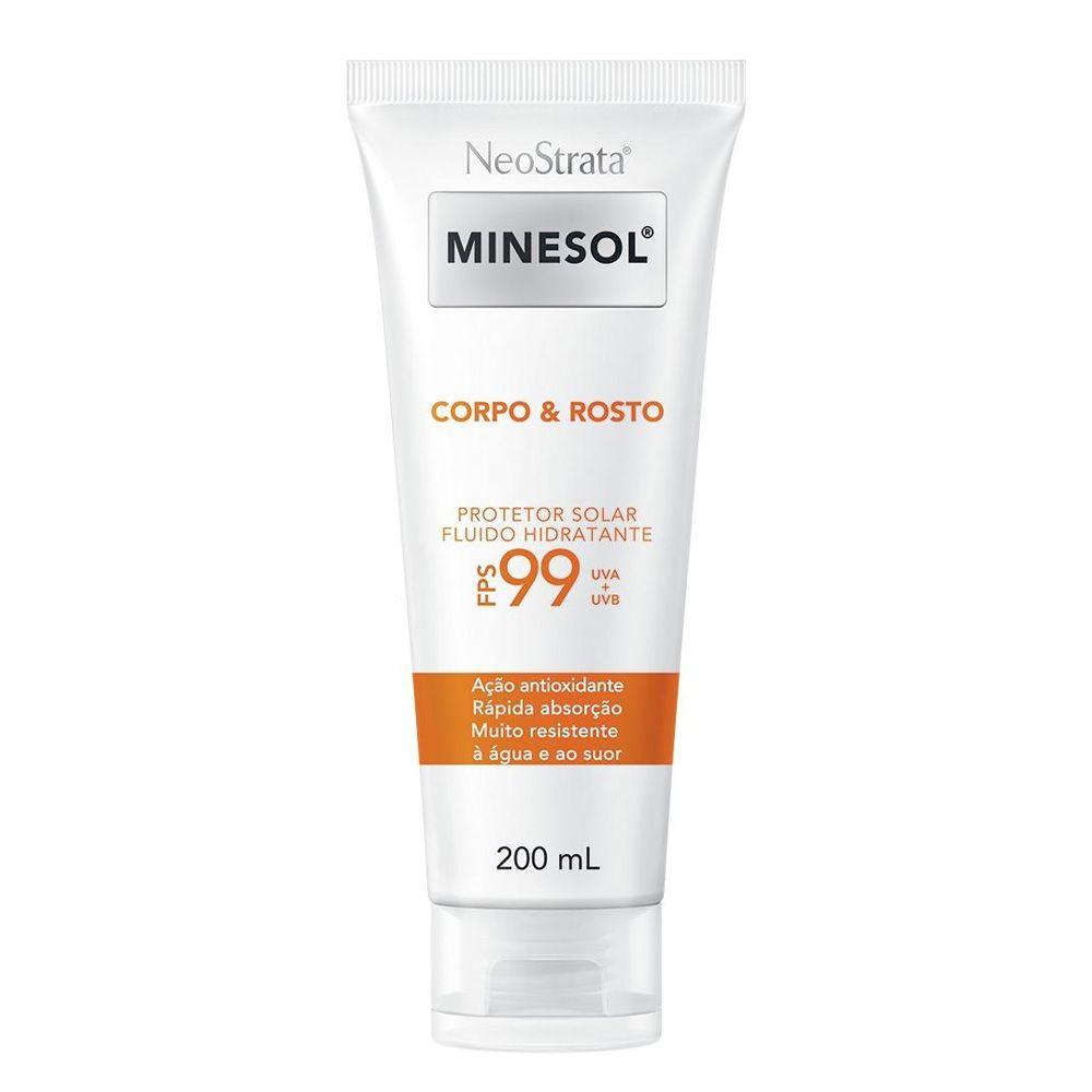 Protetor Solar Neostrata Minesol Corpo e Rosto Antioxidante FPS 99 200mL