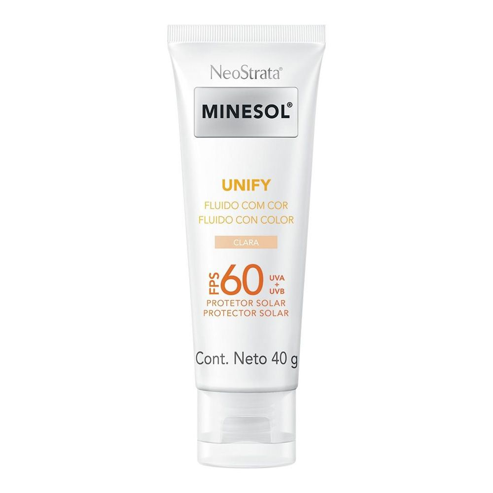 Protetor Solar Neostrata Minesol Unify Cor Clara FPS 60 40g