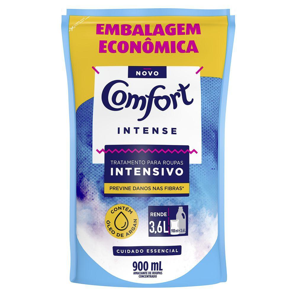 Refil Amaciante Comfort Concentrado Intensivo Intense 900ml