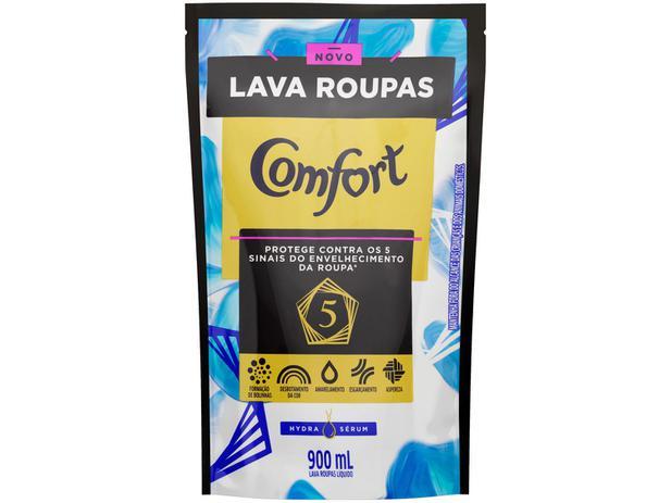 Refil Lava-Roupas Líquido Comfort Hydra Sérum 900ml