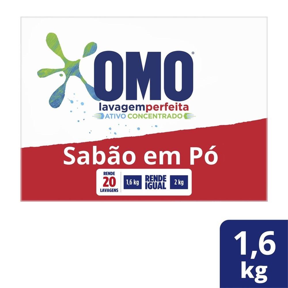 Sabão em Pó Omo Lavagem Perfeita 1.6kg