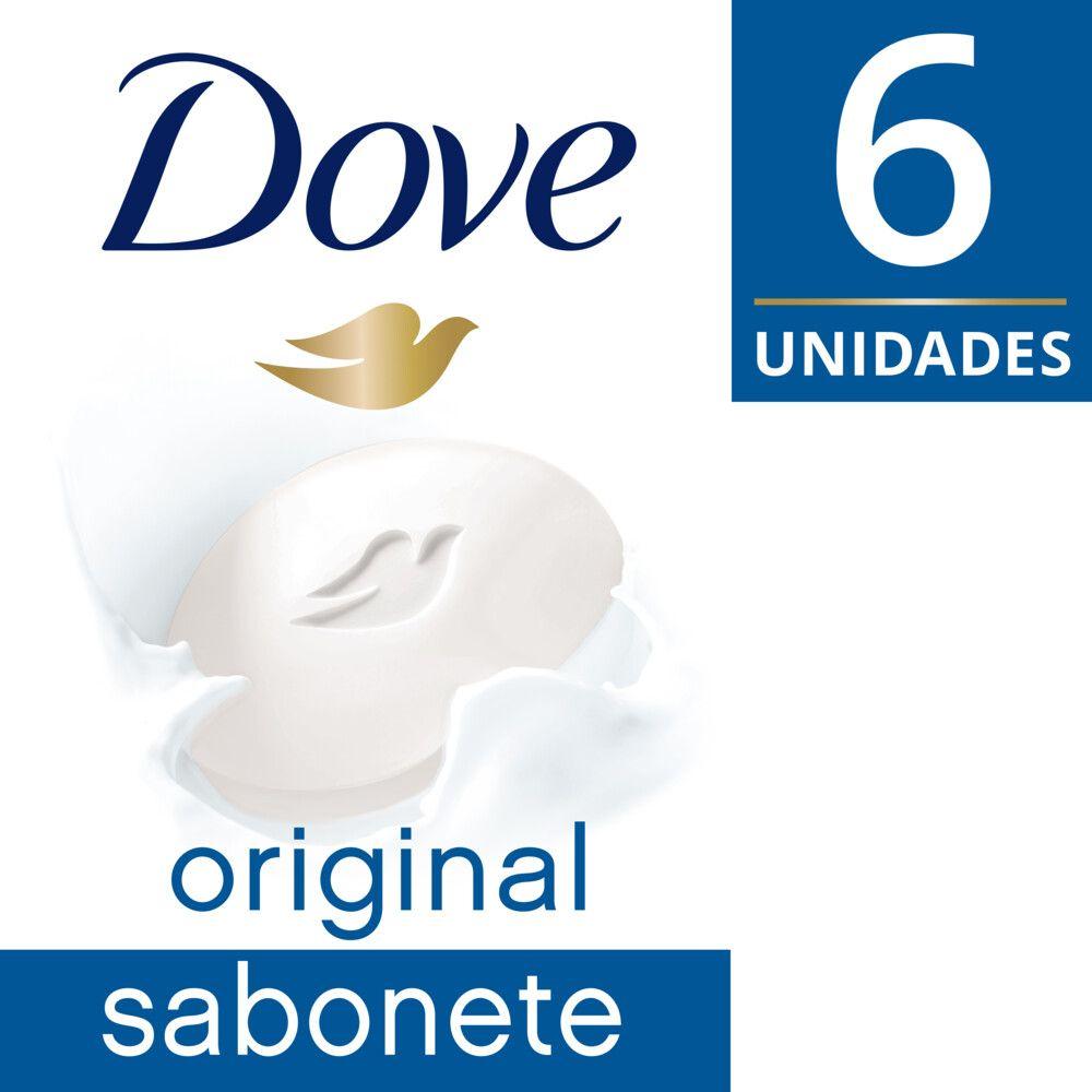 Sabonete Barra Dove Original 90g 6 Unidades