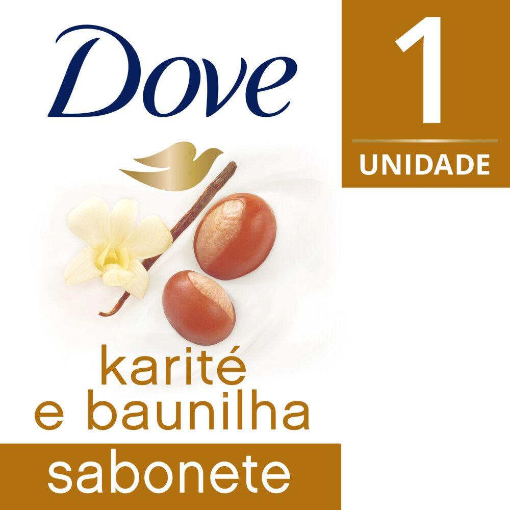 Sabonete em Barra Dove Karité e Baunilha 90g