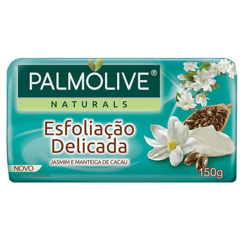 Sabonete em Barra Palmolive Naturals Esfoliação Delicada 150g