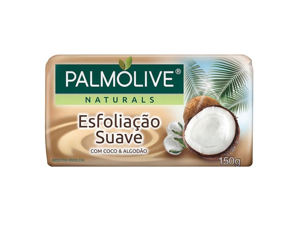 Sabonete em Barra Palmolive Naturals Esfoliação Suave 150g