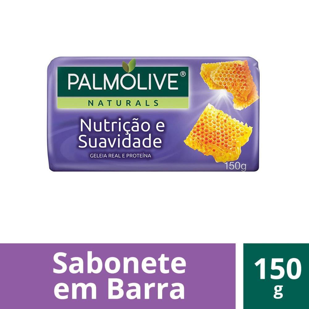 Sabonete em Barra Palmolive Naturals Nutrição & Suavidade 150g