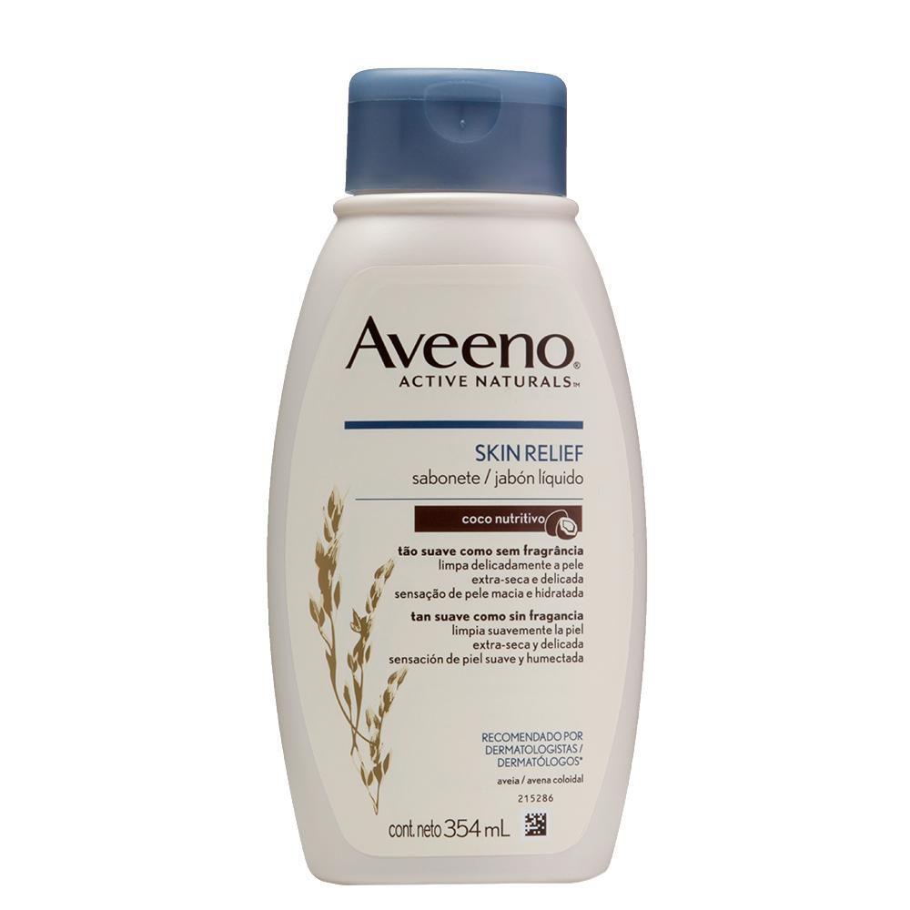 Sabonete Líquido Aveeno Skin Relief Coco 354ml
