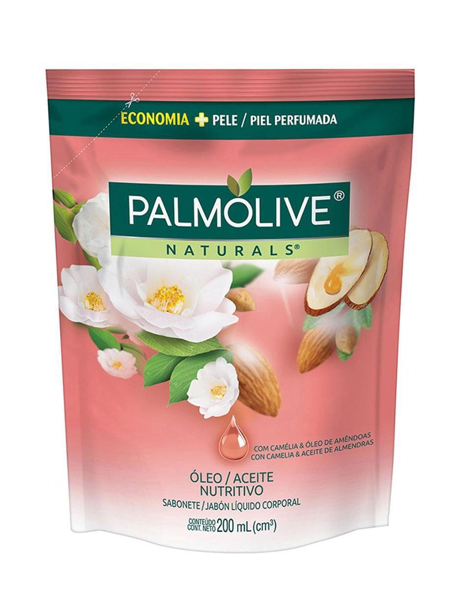 Sabonete Líquido Palmolive Naturals Óleo Nutritivo Refil 200mL