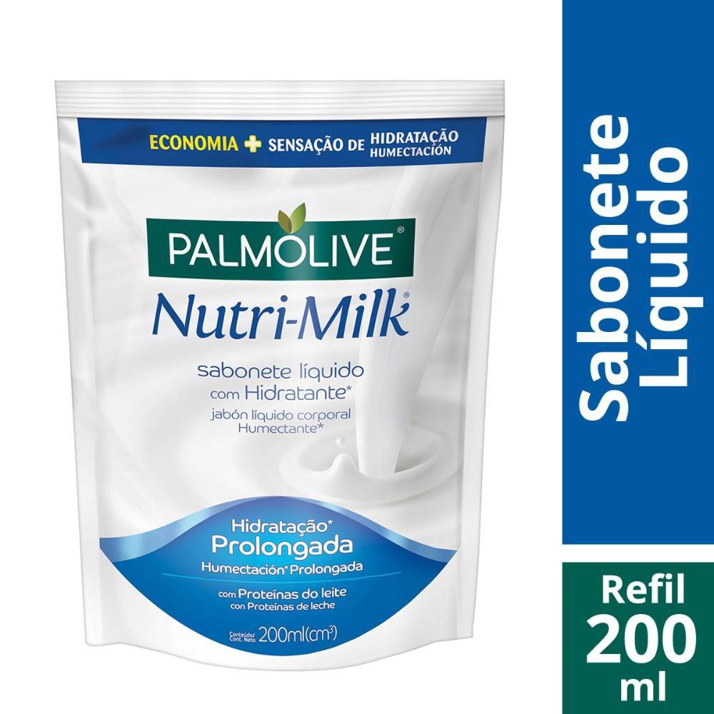 Sabonete Líquido Palmolive Nutri-Milk Hidratante Refil 200ml