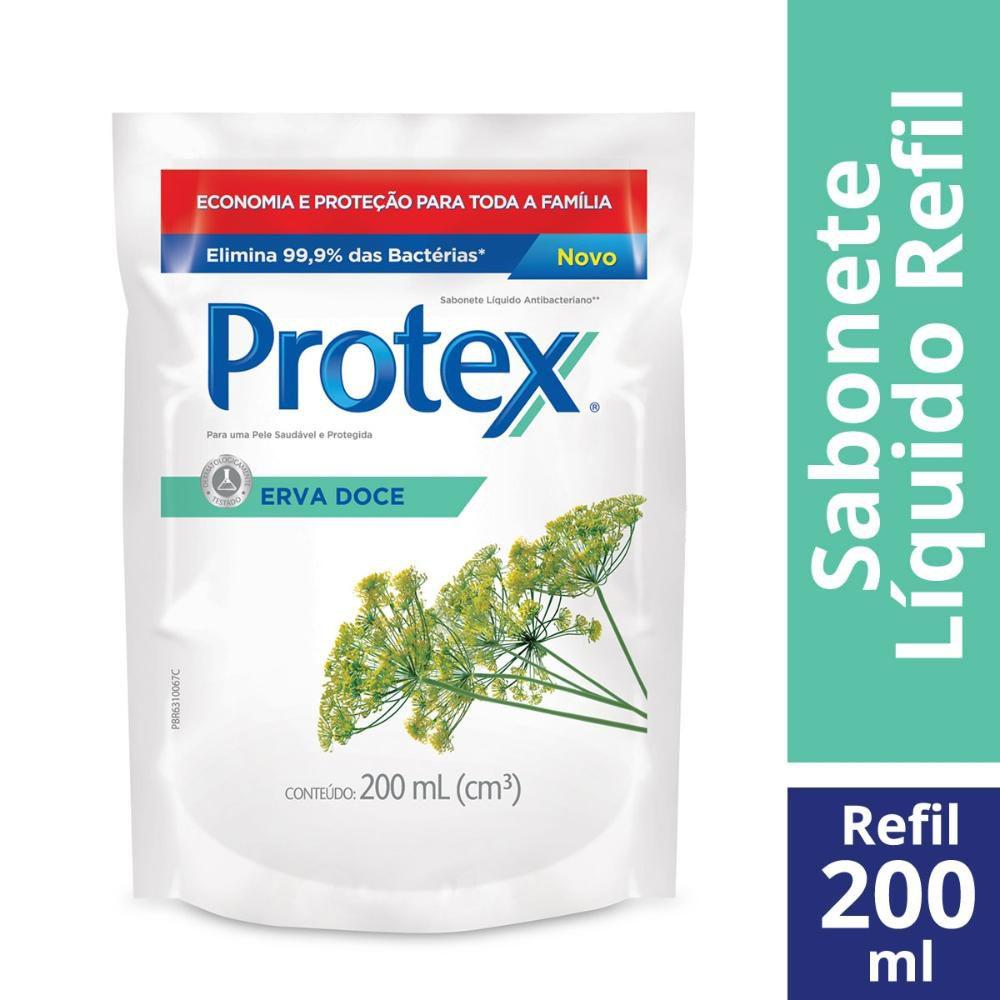 Sabonete Líquido Protex Erva Doce 200ml Refil