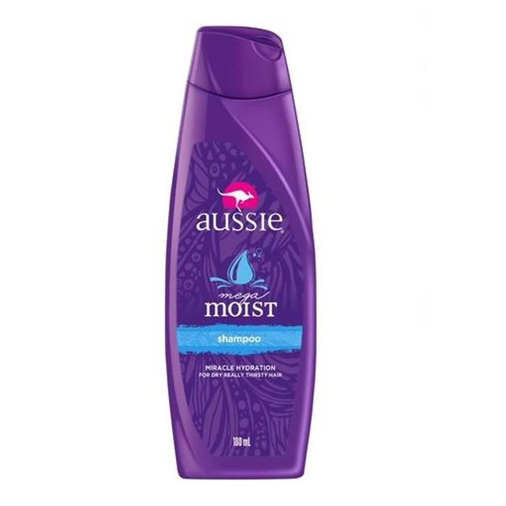 Shampoo Aussie Mega Moist 180mL